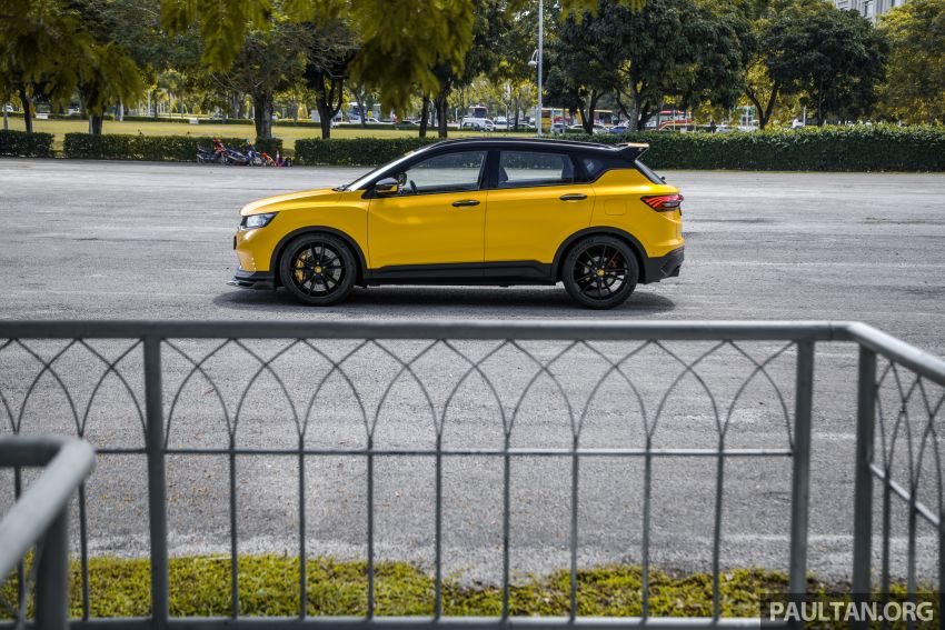 Proton X50 'Bumblebee' – viral yellow SUV with over RM50k worth of modifications inside and outside! Image #1217592