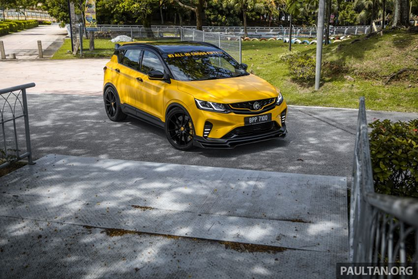 Proton X50 'Bumblebee' – viral yellow SUV with over RM50k worth of modifications inside and outside! Image #1217593