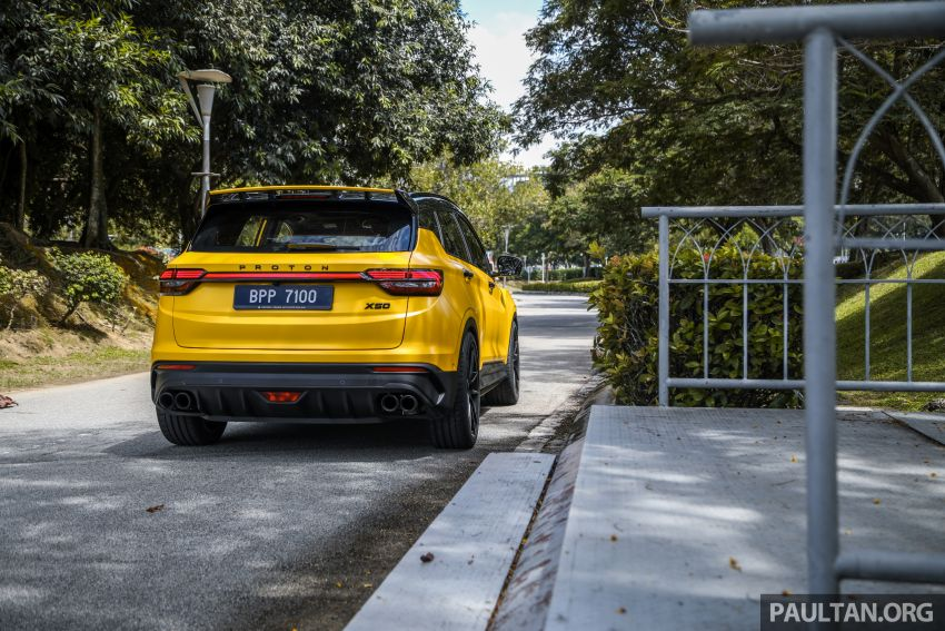 Proton X50 'Bumblebee' – viral yellow SUV with over RM50k worth of modifications inside and outside! Image #1217594