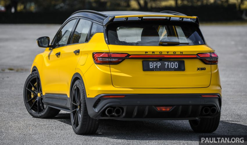 Proton X50 'Bumblebee' – viral yellow SUV with over RM50k worth of modifications inside and outside! Image #1217538