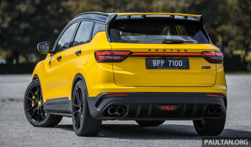 Proton X50 'Bumblebee' – viral yellow SUV with over RM50k worth of modifications inside and outside! Image #1217539