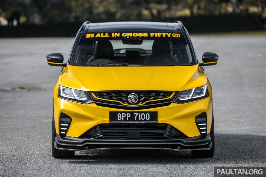 Proton X50 'Bumblebee' – viral yellow SUV with over RM50k worth of modifications inside and outside! Image #1217541