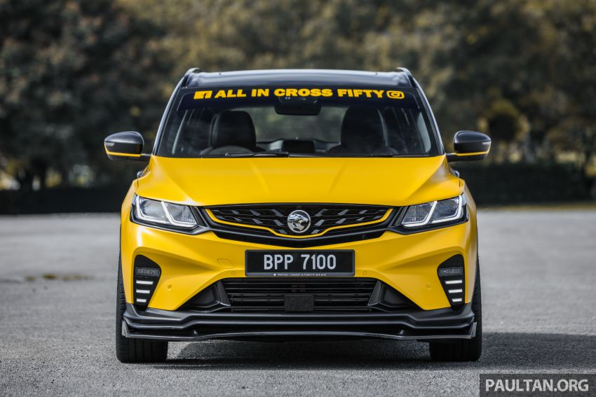 Proton X50 'Bumblebee' – viral yellow SUV with over RM50k worth of modifications inside and outside! Image #1217543