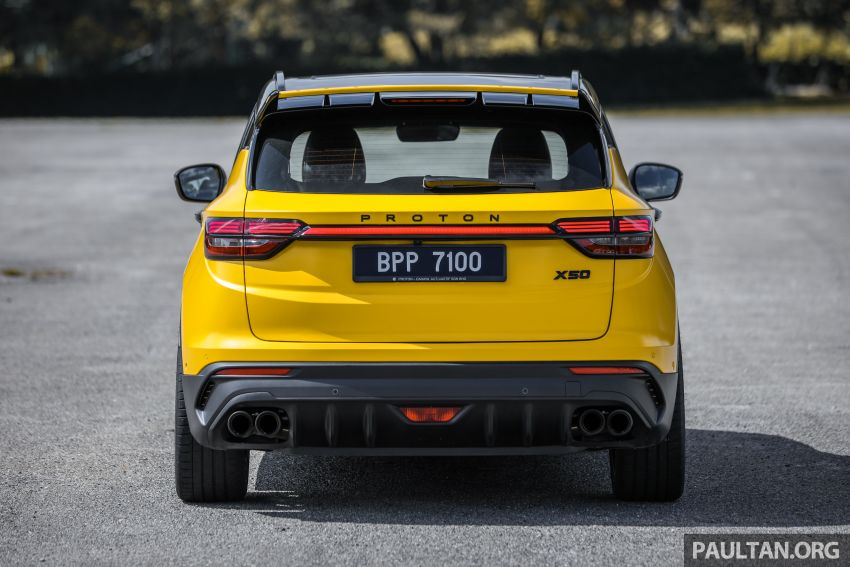 Proton X50 'Bumblebee' – viral yellow SUV with over RM50k worth of modifications inside and outside! Image #1217546