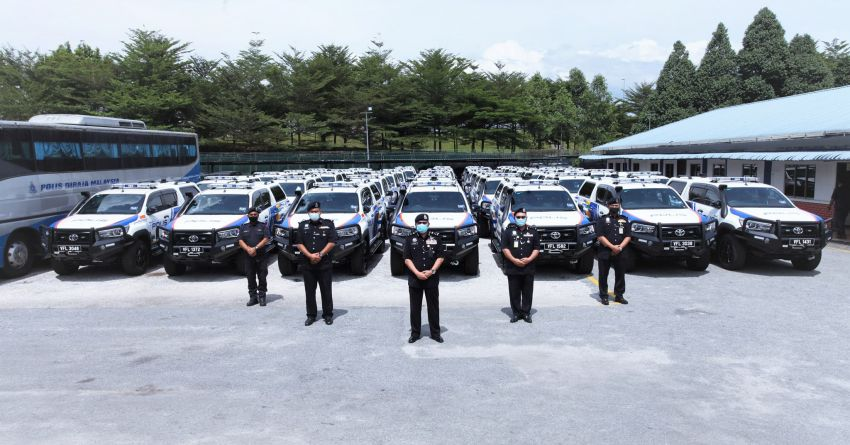 PDRM adds 39 Toyota Hilux 2.8 Black Edition and 24 BMW R 1250 GS vehicles to its fleet – K9 unit, UTK use Image #1209961