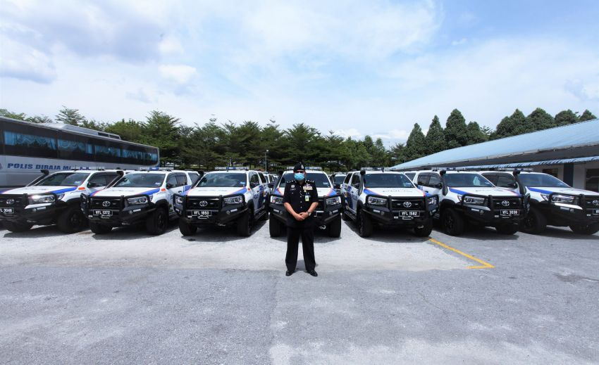 PDRM adds 39 Toyota Hilux 2.8 Black Edition and 24 BMW R 1250 GS vehicles to its fleet – K9 unit, UTK use Image #1209962