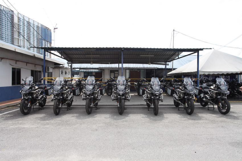 PDRM adds 39 Toyota Hilux 2.8 Black Edition and 24 BMW R 1250 GS vehicles to its fleet – K9 unit, UTK use Image #1209963