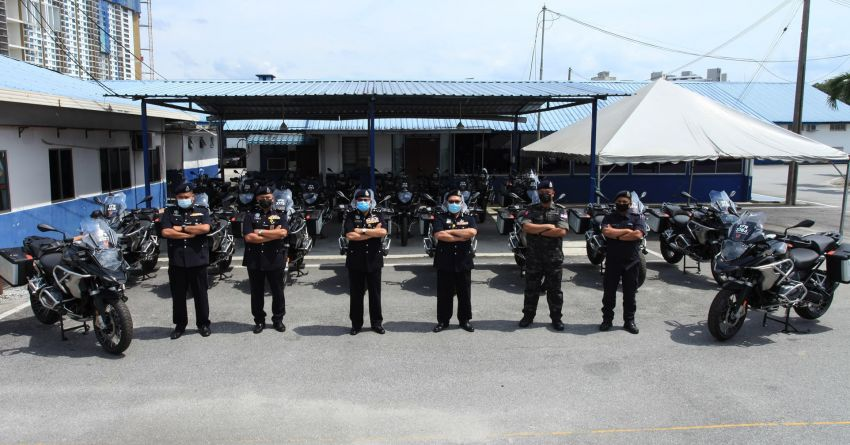 PDRM adds 39 Toyota Hilux 2.8 Black Edition and 24 BMW R 1250 GS vehicles to its fleet – K9 unit, UTK use Image #1209964