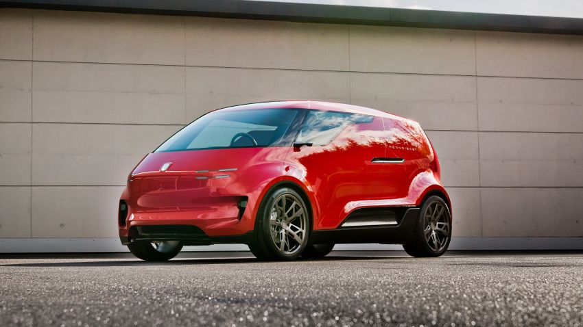 Porsche showcases unreleased design studies – 919 Street, Vision Spyder, Renndienst 6-seat electric van Image #1209072