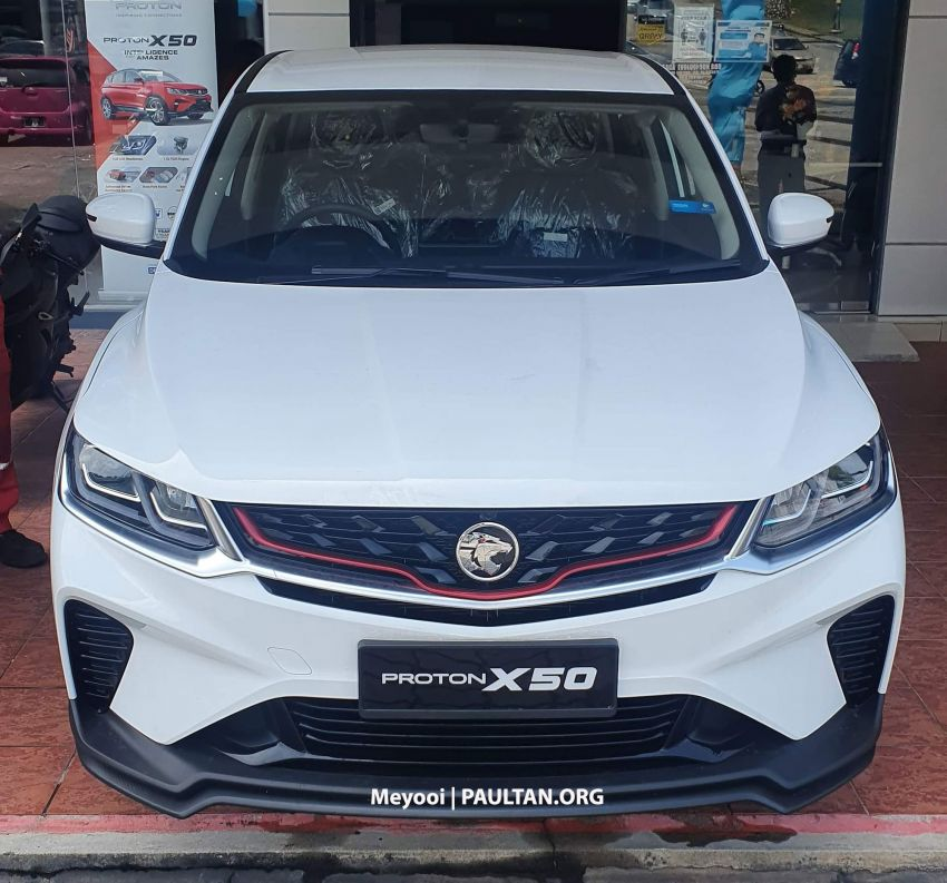 2020 Proton X50 1.5T Standard – first look at the entry-level RM79,200 variant, is the base spec SUV OK? Image #1205206
