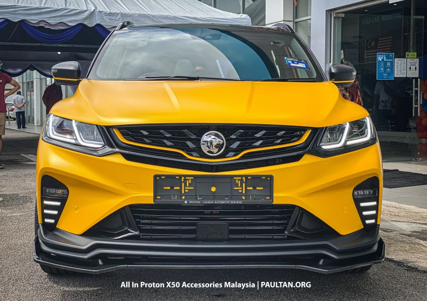 Proton X50 – first mods debut with this 'Bumblebee' Image #1203173
