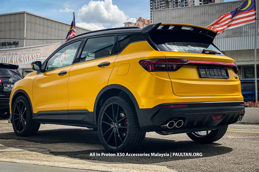 Proton X50 – first mods debut with this 'Bumblebee' Image #1203172