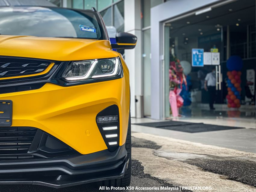 Proton X50 – first mods debut with this 'Bumblebee' Image #1203170