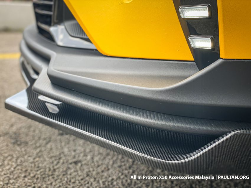 Proton X50 – first mods debut with this 'Bumblebee' Image #1203169