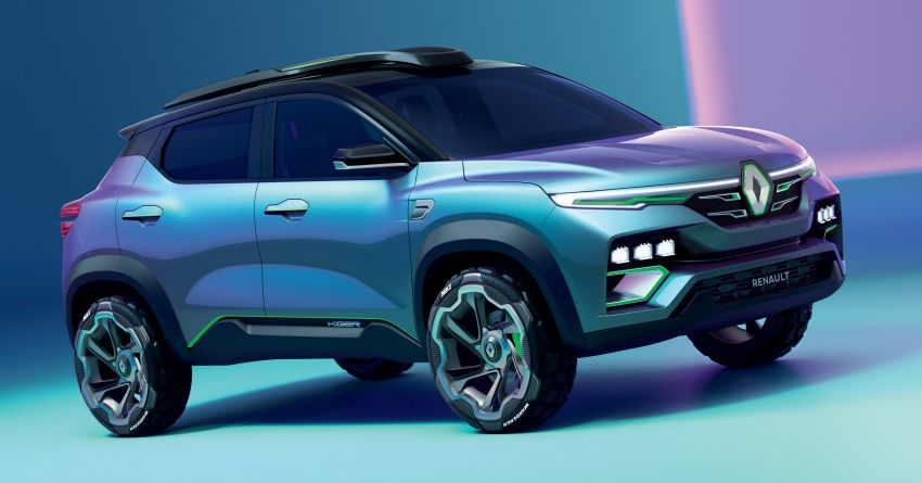 Renault Kiger concept revealed – previews new sub-four-metre compact SUV; India launch in Q1 2021 Image #1212877