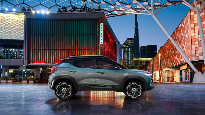 Renault Kiger concept revealed – previews new sub-four-metre compact SUV; India launch in Q1 2021 Image #1212886