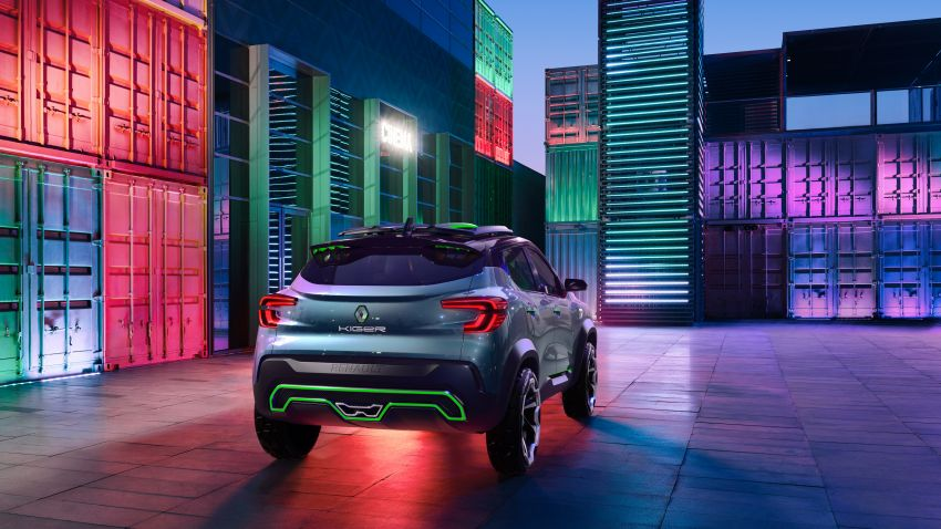 Renault Kiger concept revealed – previews new sub-four-metre compact SUV; India launch in Q1 2021 Image #1212887