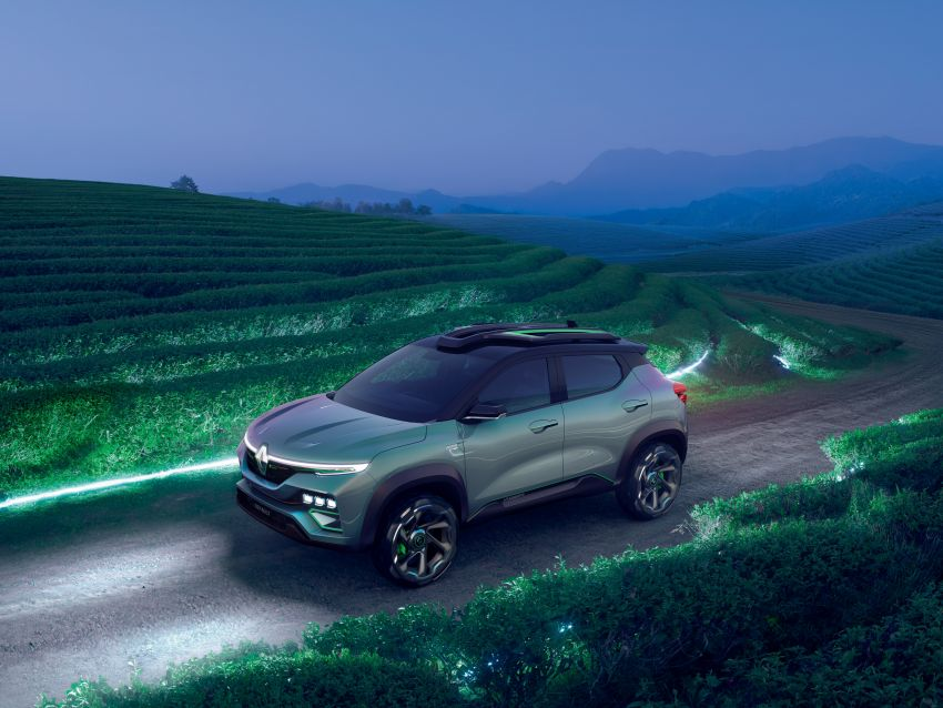 Renault Kiger concept revealed – previews new sub-four-metre compact SUV; India launch in Q1 2021 Image #1212888