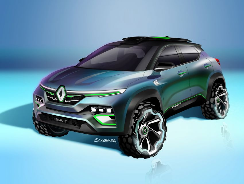 Renault Kiger concept revealed – previews new sub-four-metre compact SUV; India launch in Q1 2021 Image #1212889