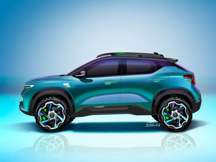 Renault Kiger concept revealed – previews new sub-four-metre compact SUV; India launch in Q1 2021 Image #1212890