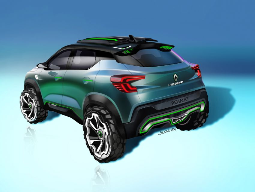 Renault Kiger concept revealed – previews new sub-four-metre compact SUV; India launch in Q1 2021 Image #1212891