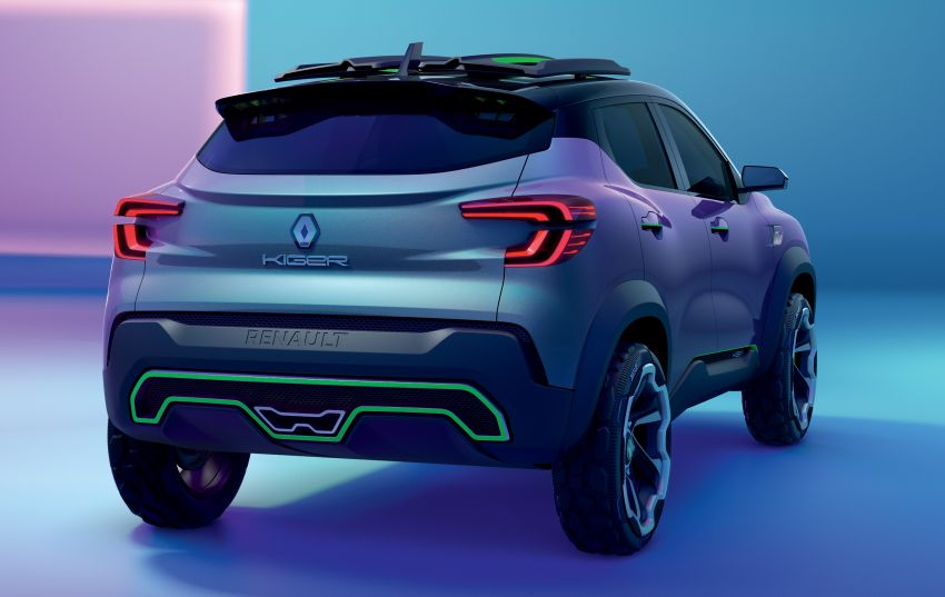 Renault Kiger concept revealed – previews new sub-four-metre compact SUV; India launch in Q1 2021 Image #1212878