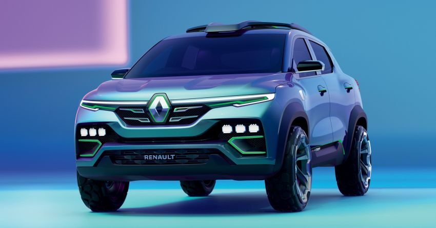 Renault Kiger concept revealed – previews new sub-four-metre compact SUV; India launch in Q1 2021 Image #1212879