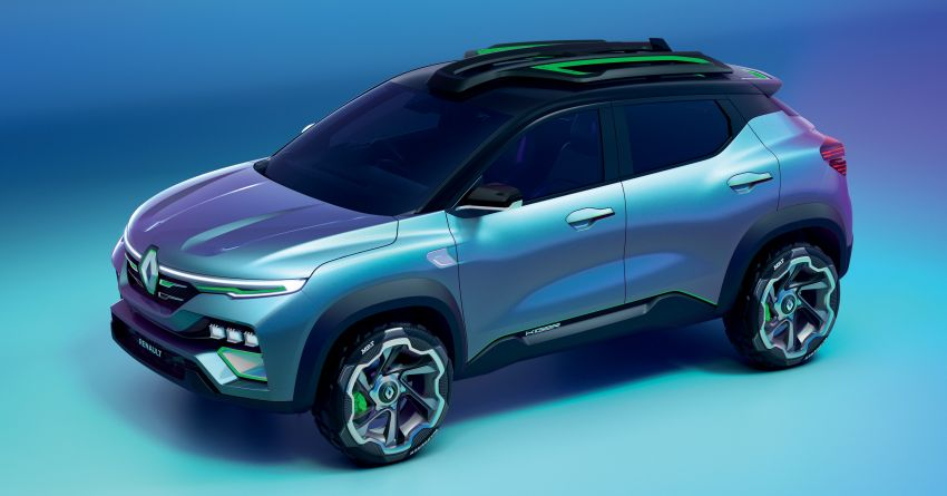 Renault Kiger concept revealed – previews new sub-four-metre compact SUV; India launch in Q1 2021 Image #1212880