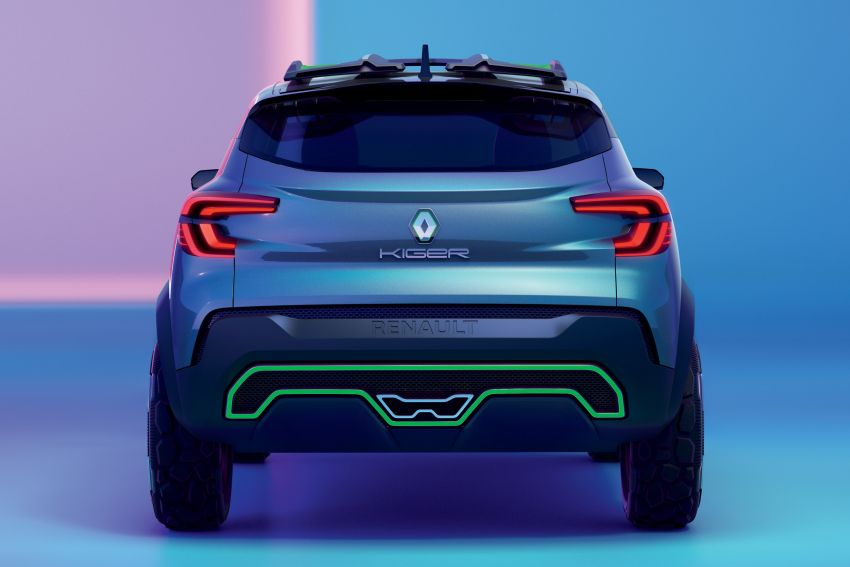 Renault Kiger concept revealed – previews new sub-four-metre compact SUV; India launch in Q1 2021 Image #1212882