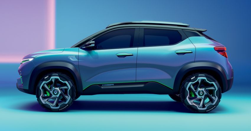 Renault Kiger concept revealed – previews new sub-four-metre compact SUV; India launch in Q1 2021 Image #1212883