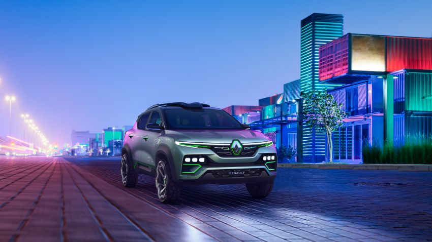 Renault Kiger concept revealed – previews new sub-four-metre compact SUV; India launch in Q1 2021 Image #1212885