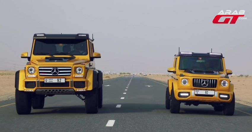Suzuki Jimny with G-Class conversion kit takes on the Mercedes-Benz G500 4×4² – look at the size difference! Image #1218191