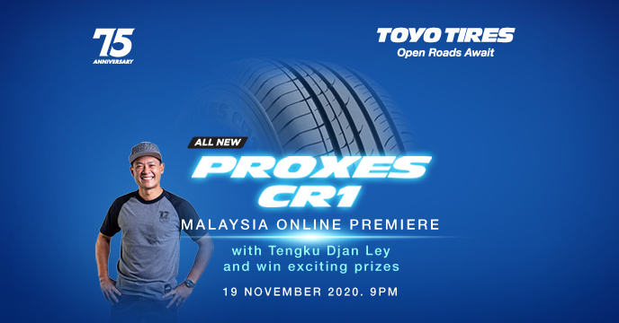 Toyo Proxes CR1 to be launched in Malaysia on Nov 19 Image #1206796