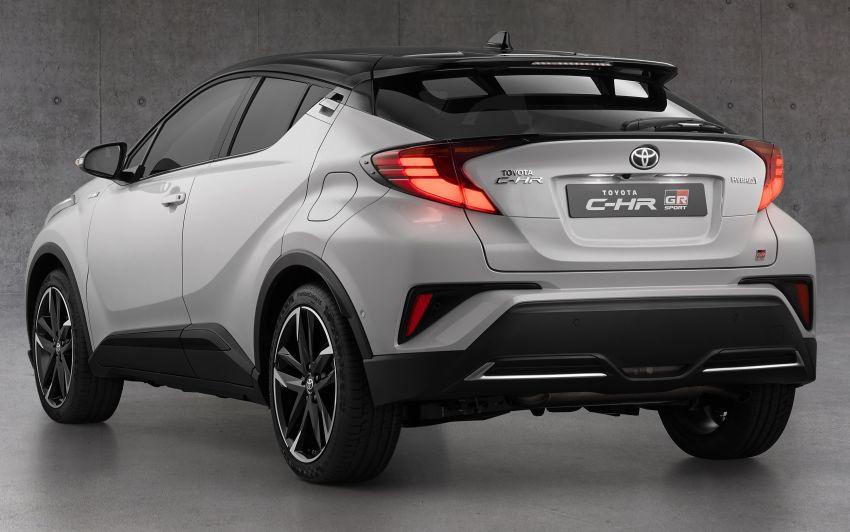 Toyota C-HR GR Sport, C-HIC models debut in Europe Image #1206215