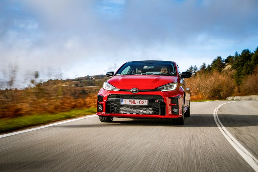 Toyota GR Yaris launched in Europe, from RM158k Image #1207242