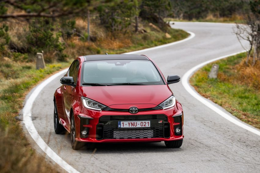 Toyota GR Yaris launched in Europe, from RM158k Image #1207270
