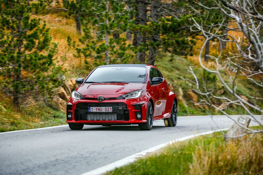 Toyota GR Yaris launched in Europe, from RM158k Image #1207236
