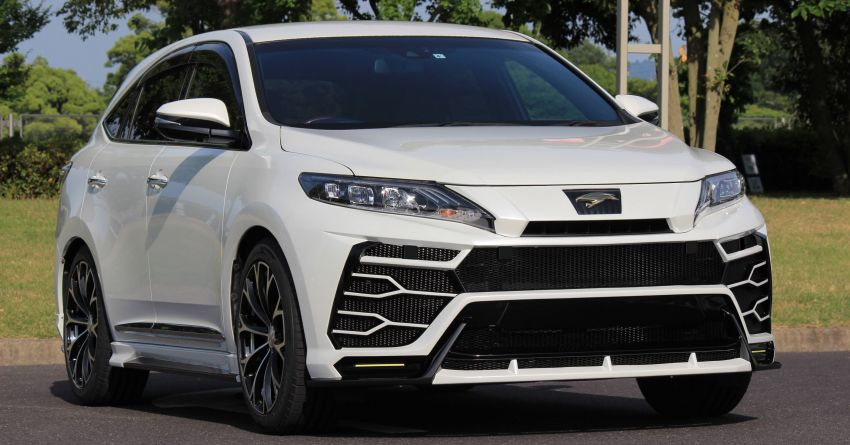 Toyota Harrier with Craftech body kit – Urus clone Image #1217301