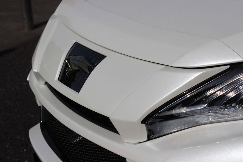 Toyota Harrier with Craftech body kit – Urus clone Image #1217311