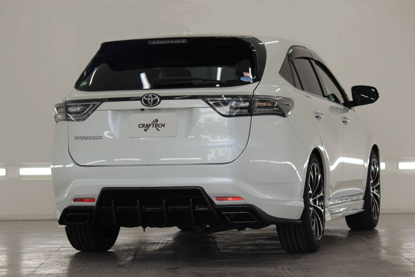 Toyota Harrier with Craftech body kit – Urus clone Image #1217304