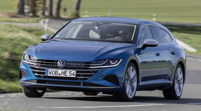 Volkswagen Arteon eHybrid plug-in hybrid dilancarkan Image #1218635