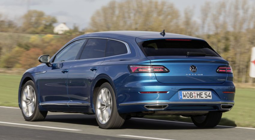 Volkswagen Arteon eHybrid plug-in hybrid dilancarkan Image #1218636