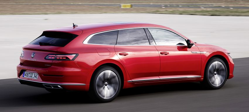 Volkswagen Arteon eHybrid plug-in hybrid dilancarkan Image #1218622
