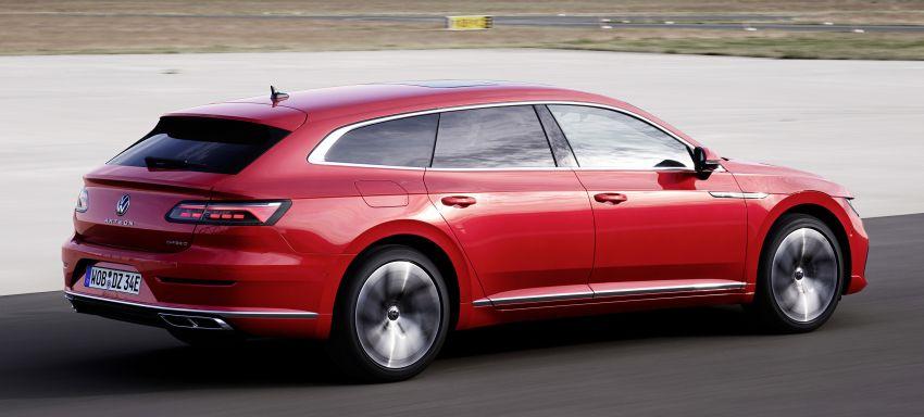 Volkswagen Arteon eHybrid plug-in hybrid dilancarkan Image #1218605