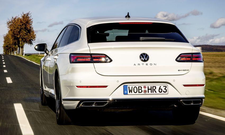 Volkswagen Arteon eHybrid plug-in hybrid dilancarkan Image #1218625