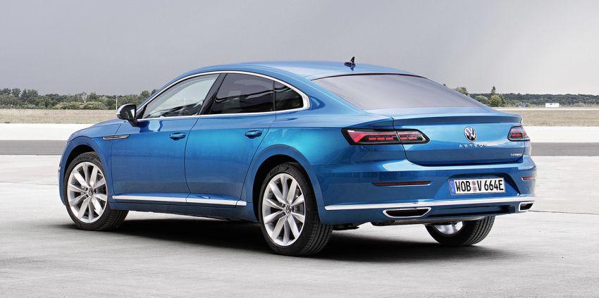 Volkswagen Arteon eHybrid plug-in hybrid dilancarkan Image #1218602