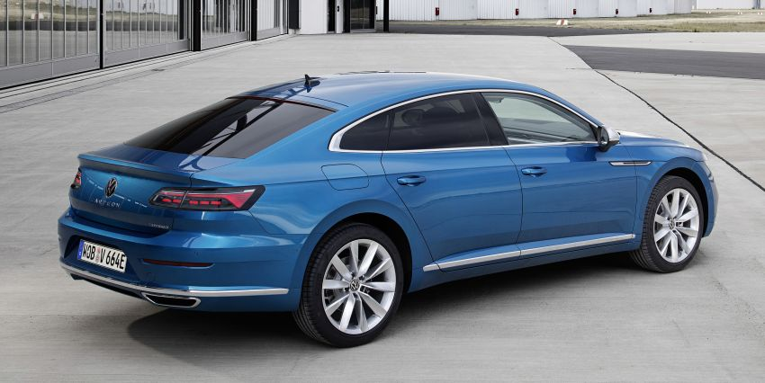 Volkswagen Arteon eHybrid plug-in hybrid launched Image #1218290