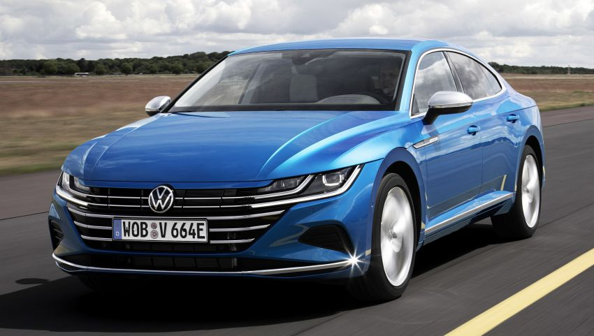 Volkswagen Arteon eHybrid plug-in hybrid dilancarkan Image #1218597