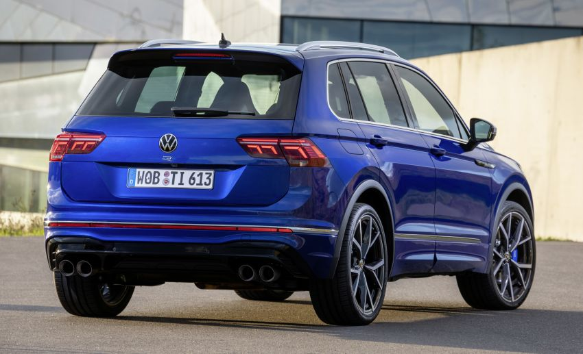 Volkswagen Tiguan R revealed – SUV with 320 PS, 4.9s Image #1216947