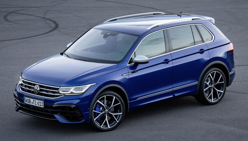 Volkswagen Tiguan R revealed – SUV with 320 PS, 4.9s Image #1216949